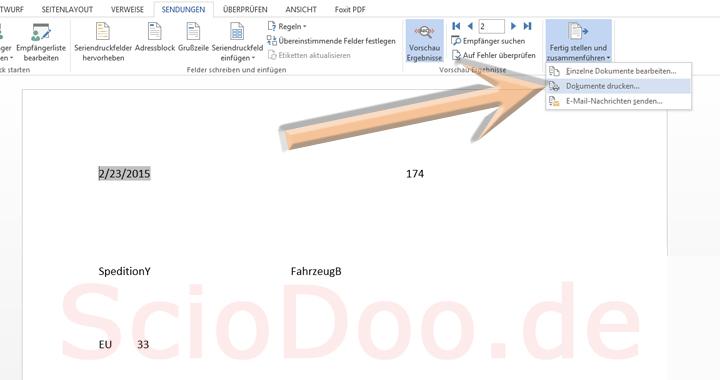 palettenschein vorlage dokument drucken