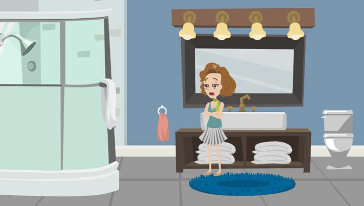 warum riecht nasses handtuch