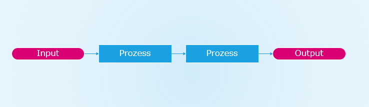 prozessmanagement input output