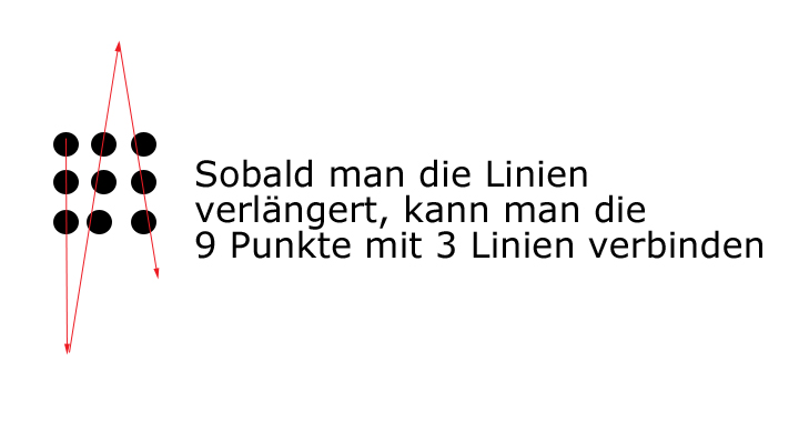 9 punkte problem lösung